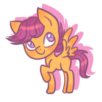 Little Scootalo by CloudBrownie