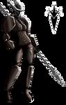 Ashana Battle Warlock by PCRaven