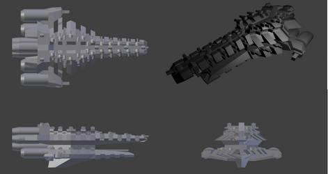 Government Fleet Battleship by PCRaven
