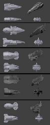 Slipstreamer Fleet by PCRaven