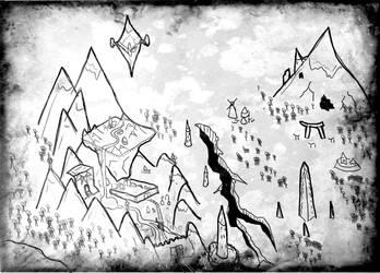 Inheritance War - Over Land Map by PCRaven