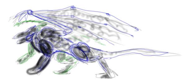 2014 / 2 / 1 Dragon Sketch by PCRaven