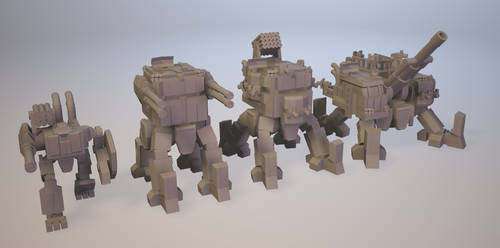 Low Tech Mechs
