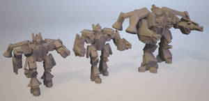 Iron Cross Mechs