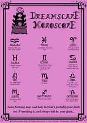 Dreamscape Horoscope... by VicMartinezJr