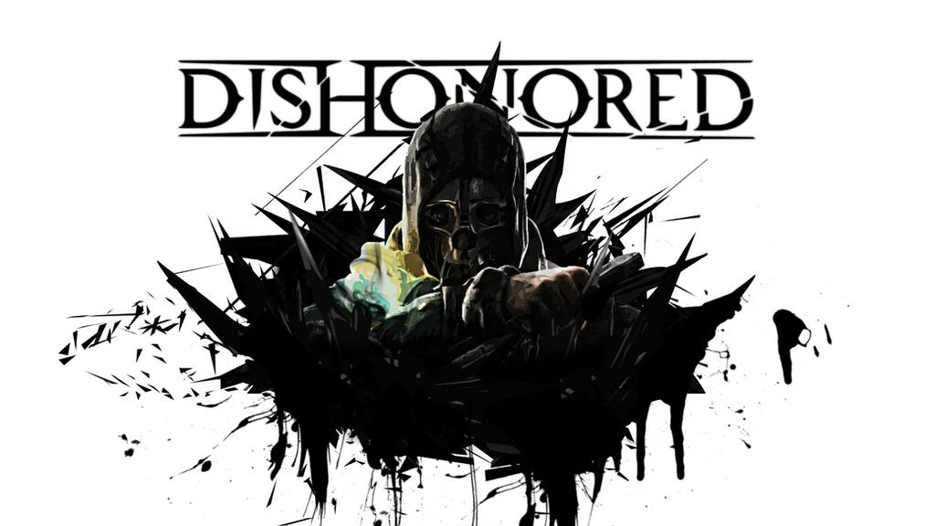 dishonored wallpaper v2kuraitomu on deviantart
