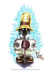 Vivi Final Fantasy 9 Fan Art by TheAncientMasteress