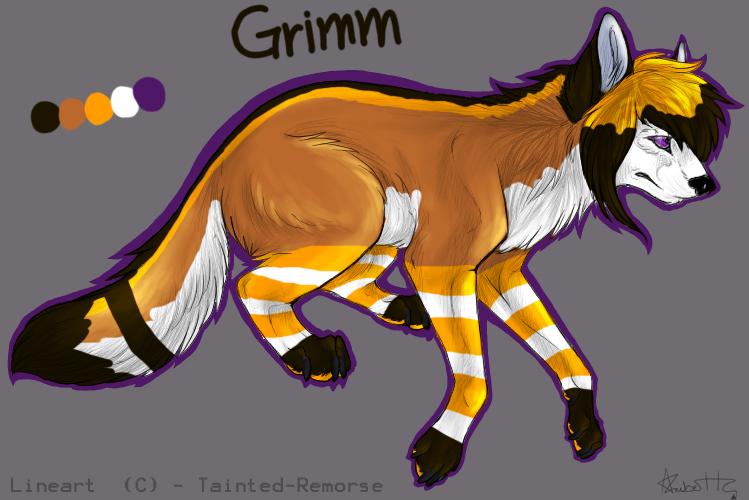.::Temporary Grimm Ref::. by AeroShadowStar