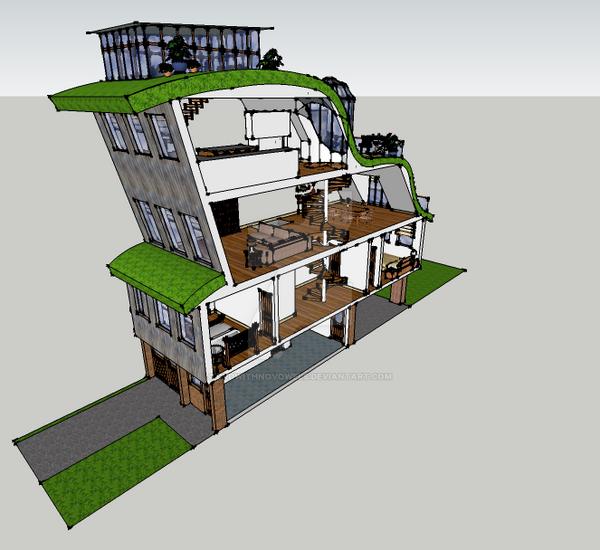 Sketchup Home Design: SketchUP 1 By Dvdwithnovowels On DeviantArt