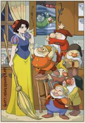 Blancanieves y los siete pesadicos by Laurielle-Maven