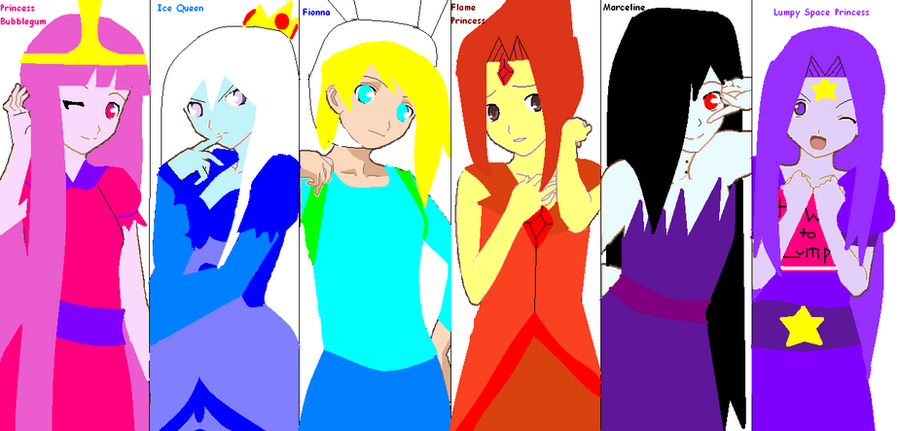 from Amare nacid girls from adventure time