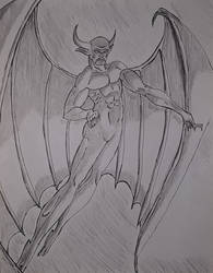 Chernobog (sketch) by theanimationguy
