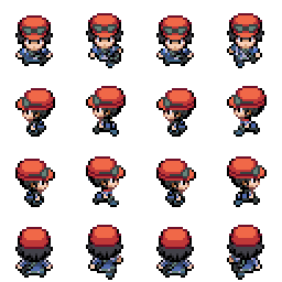 Pokemon XY Male Trainer Gen IV Style by PizzaSun