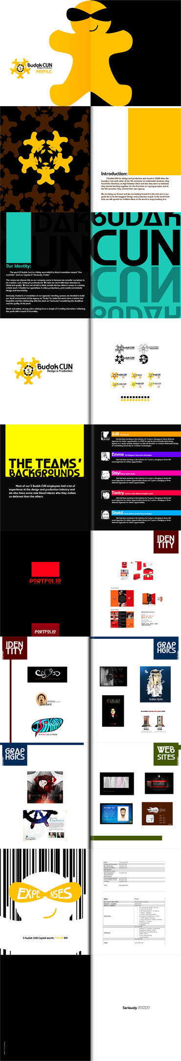 Design agency profile by mr graphic for Graphic design agency