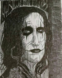 Brandon Lee's The Crow  by MrBSomething