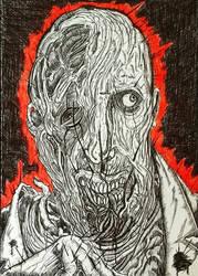 The Splintery Portrait  by MrBSomething