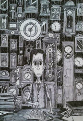 Clocks Are Ticking as Anxiety Is Rising by MrBSomething