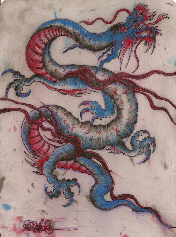 Dragon fake skin tattoo by littleholly23 on deviantart for How to make fake skin for tattooing