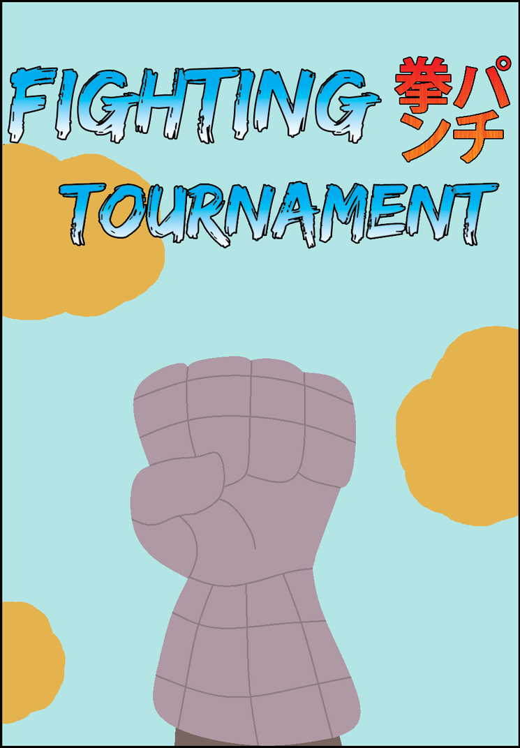 Fighting Tournament Audition - Title Page by HiddenZealot
