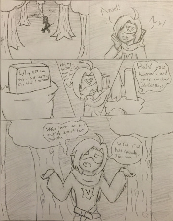 The Haunted Library Audition Page 1 by HiddenZealot