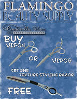 Flamingo Beauty Supply Leaflet by RobMakes