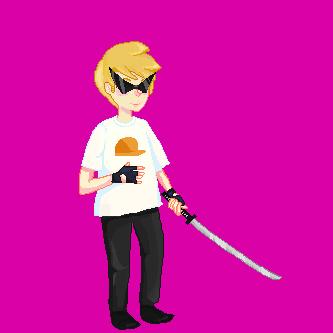 Dirk Pixel by peach-pulp