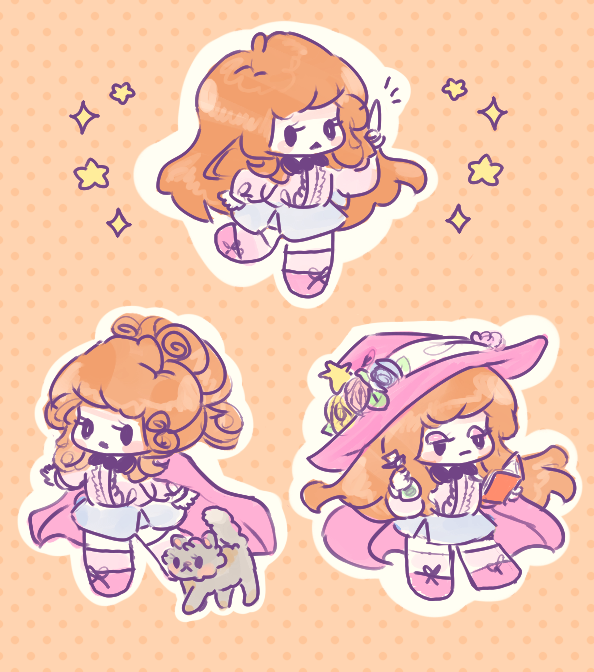 Chibi Witch Crystal by pomifumi