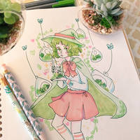 Garden Witch Traditional by pomifumi