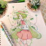 Garden Witch Traditional