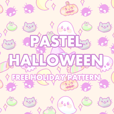 Pastel Halloween Phone and Desktop Wallpaper Free by pomifumi on ...