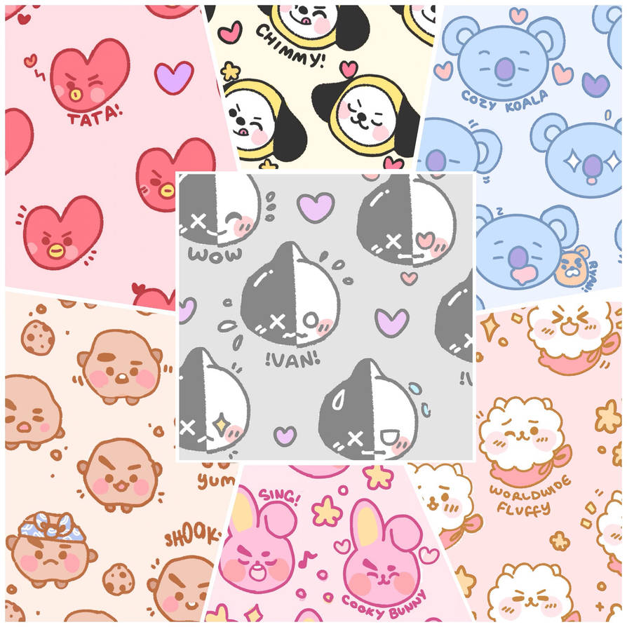 bt21 free wallpapers  by pomifumi dccb4w6