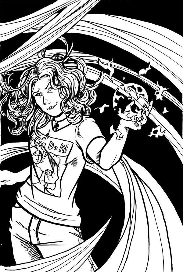 Girl Wonder Art Auction by Kellhound1365