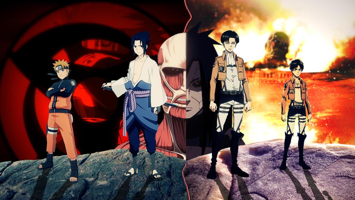 Naruto Dengan Nuansa Optimisme Serta Persahabatan Yang Menjadi Poin Utama Sepanjang Kisahnya Sementara Attack On Titan Memiliki Sci Fi Gelap