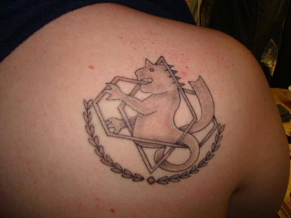 FullMetal Alchemist Tattoo by blackcat523