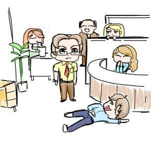The Office Chibis by Tugglebee