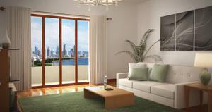 Living room render01