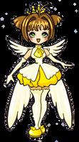 Card captor sakura yellow cutee by ma-petite-poupee
