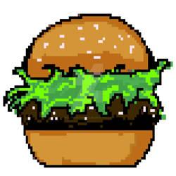 pixel Burger