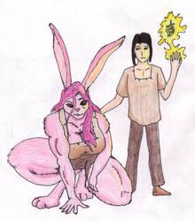 Conrad + Connie - Pencils by BlackWolfe-Coyoten