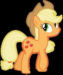 Ponyscape Vector Lesson - Applejack by BlackWolfe-Coyoten