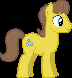 Ponyscape Vector Lesson - Caramel by BlackWolfe-Coyoten