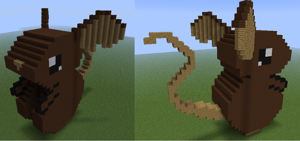 Mouse Statue In Minecraft By Xinaug On Deviantart