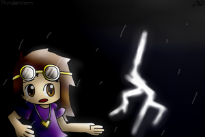 =Thunderstorm= by Thy-xin