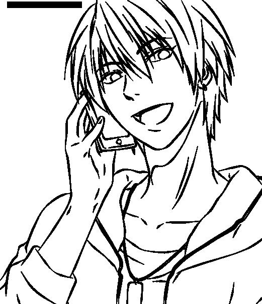 Line Art Kuroko : Kise ryouta lineart by yutakd on deviantart