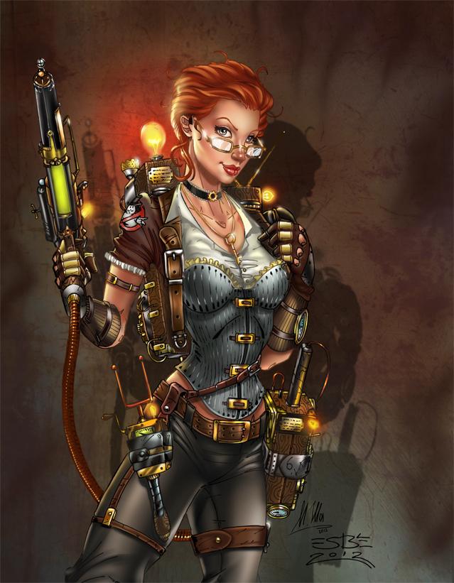 Janine Steampunk, S. Bergeron by sinhalite