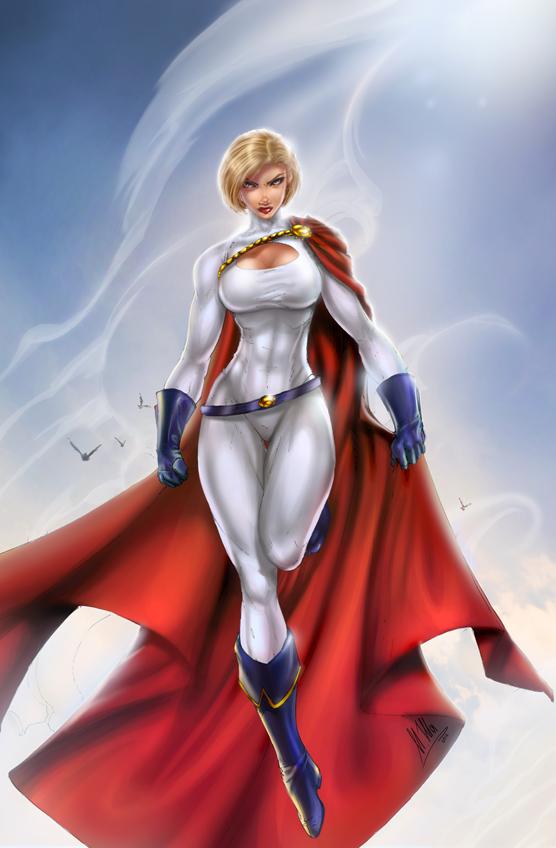 dc powergirl day b booth by ulamosart on deviantart