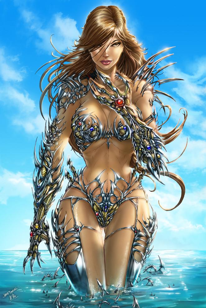 witchblade comics nude