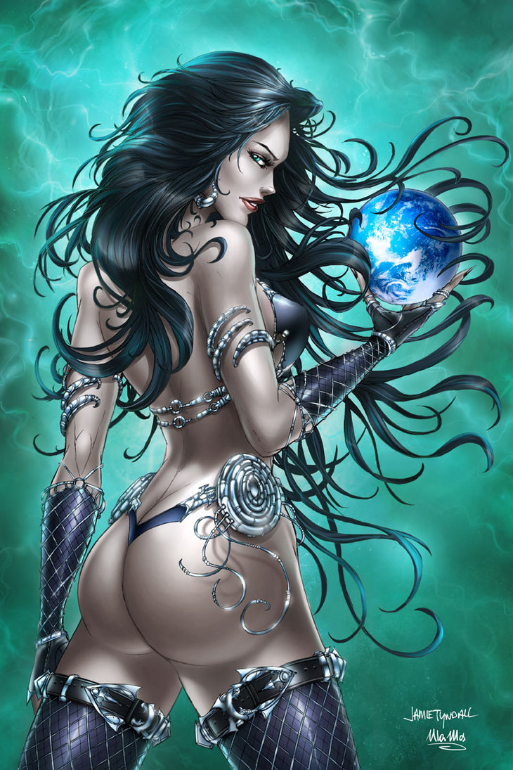 GFT Bad Girls #1, J. Tyndall by sinhalite