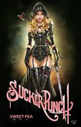 Sucker Punch: Sweet Pea, J. Tyndall by ulamosart