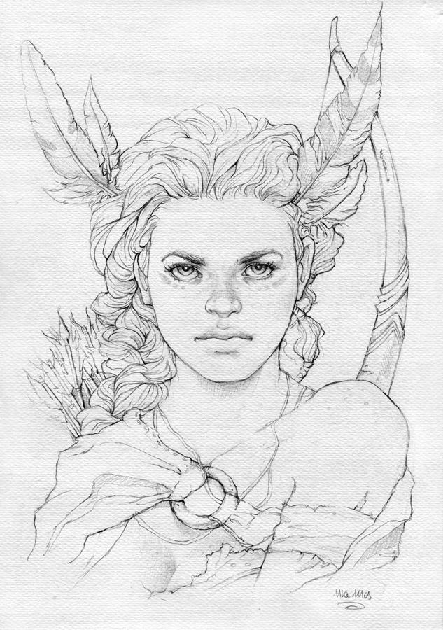 Huntress by sinhalite